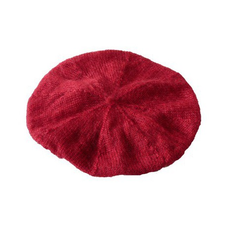 Beret in mohair