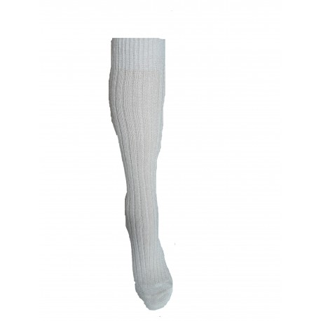 Knee-length socks in mohair