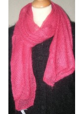 Scarf knitted 1,6m x 0,4m