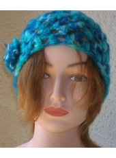 Mohair hat in hook