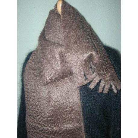 Mohair scarve woven 1,8mx0,3m