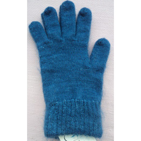 Gloves in mohair