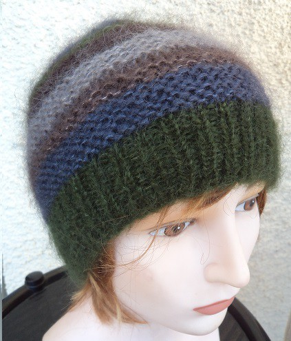 Hats in mohair